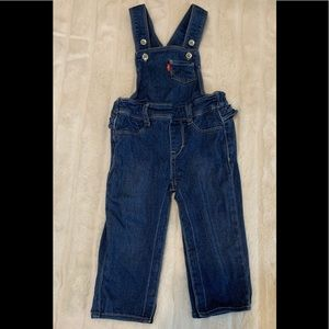 Baby Girl Levi's Overall One Piece Sz 18 M